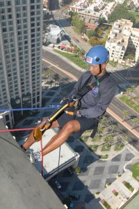 Going Over The Edge!